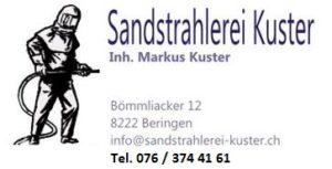 Kuster-Sandstrahlerei